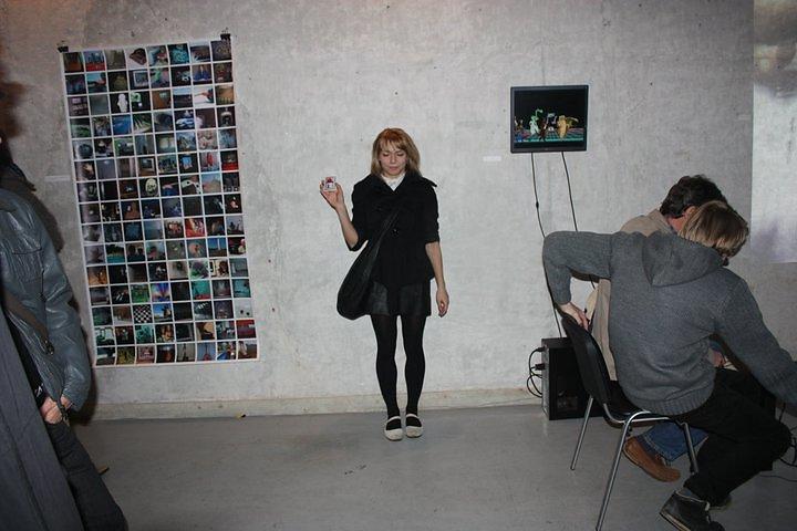 browsing exhibition